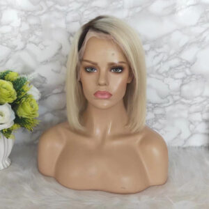 human hair 613 lace front wig