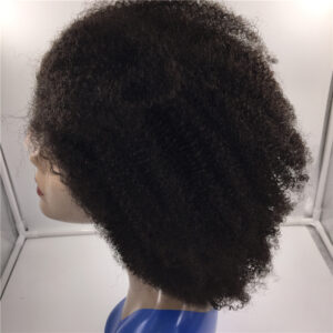 lace front wig afro curl