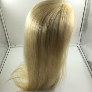 human hair full lace wig blonde 613
