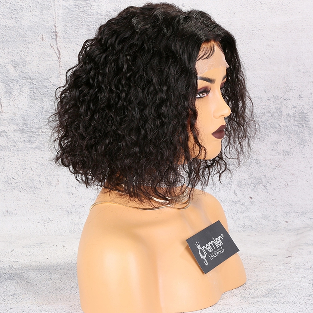 Wholesale Human Hair Bob Style Wigs Lace Front Wigs