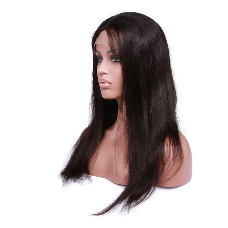 Straight Remy Indian hair light brown or