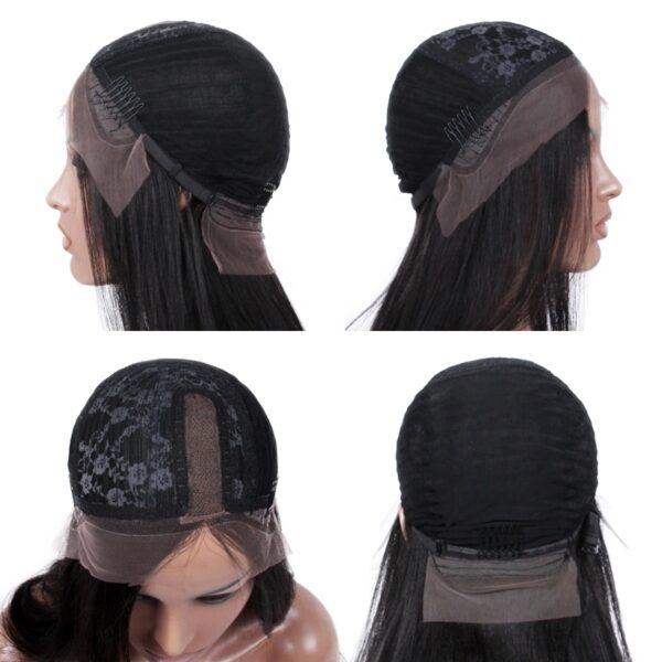 human hair U part wig