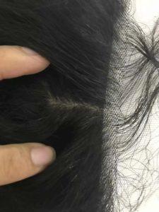 Silk base frontal