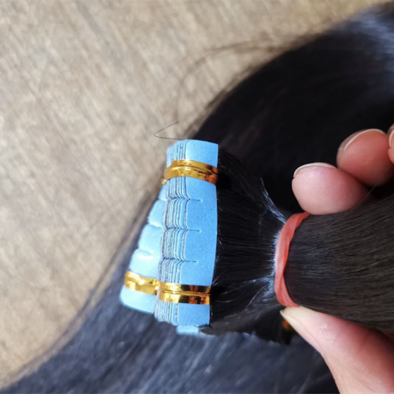 tape on extensions