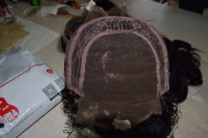 Closure wig