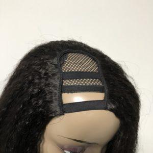 U part wig, kinky straight