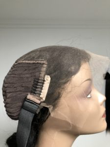 Lace front wig HD lace