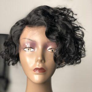 Pixie cut wig