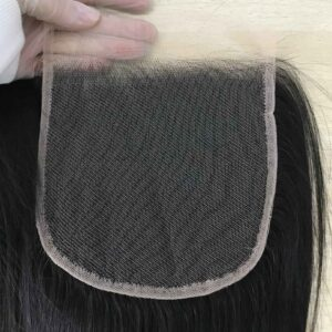 transparent lace closure