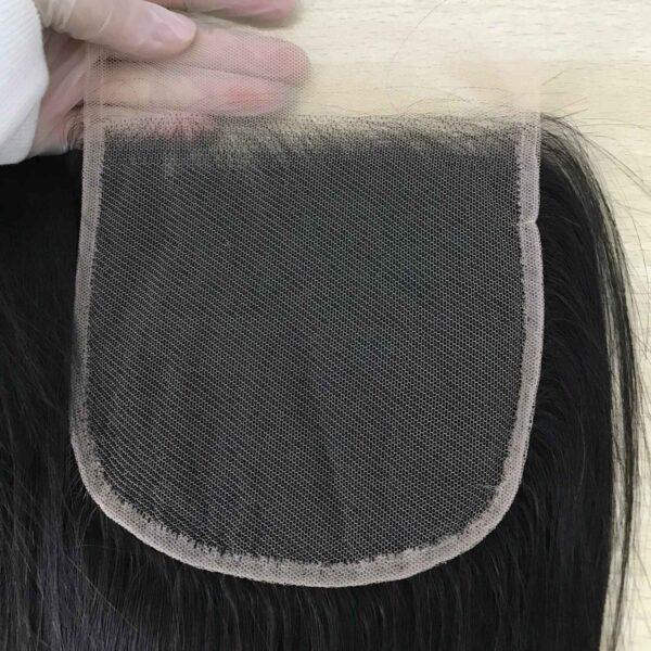 transparent lace closure