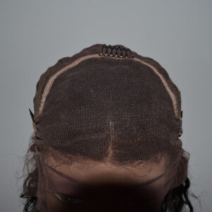 Curly BOB style frontal wig