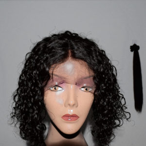 lace front wig Curly BOB style