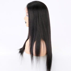 Lace front wigs human hair light yaki