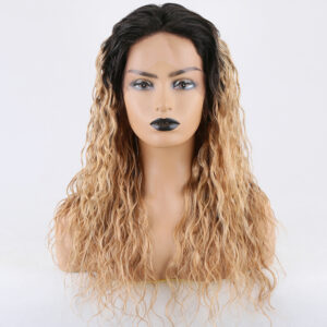 lace front wig two tone