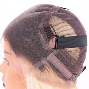 two tone 360 wig
