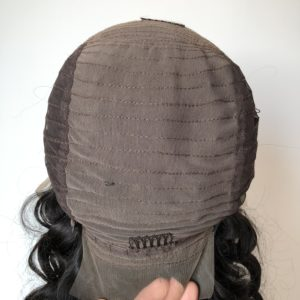lace frontal wig sewn part