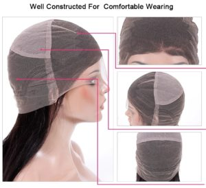 How does full lace wig cap inside looks like?