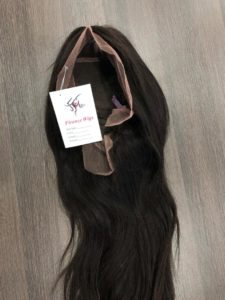 human lace front wig