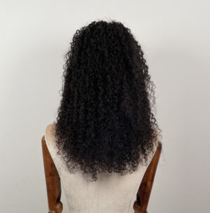 human hair curly wigs