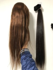 lace front wigs brown hair