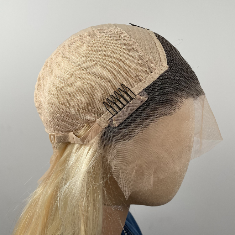 613 human hair lace front wig