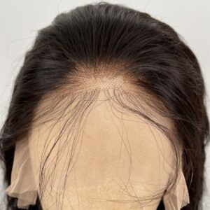 Transparent lace front wig human hair