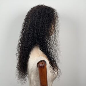 water wave front lace human hair wig