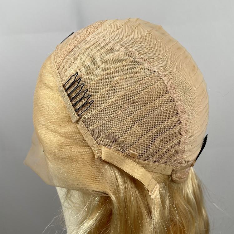 blonde frontal wig