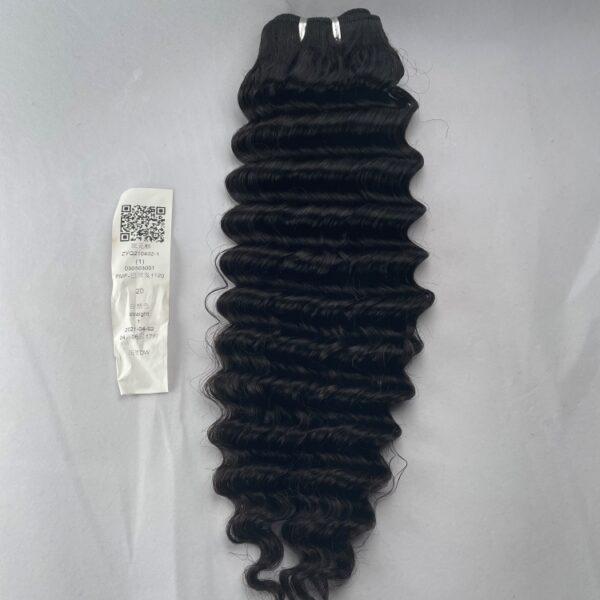 human hair bundle deep wave 4 oz
