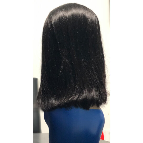 lace front wig bob style
