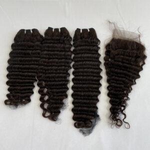 virgin hair bundles deep wave