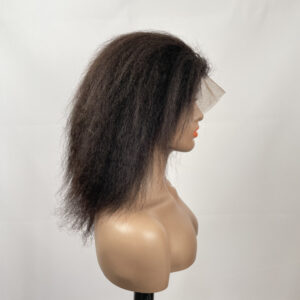 13*6 Lace front wig kinky straight
