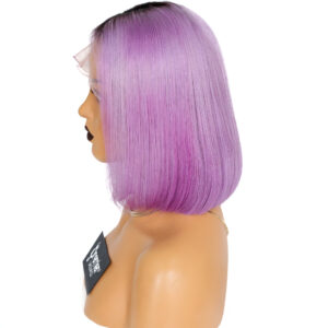 Lace Front Wig Purple