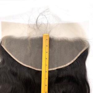 13*6 transparent lace frontal