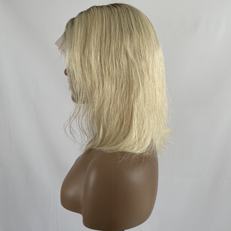 Blonde full lace wig