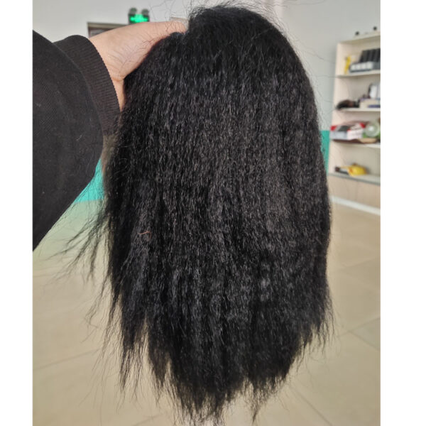 Full lace wig kinky straight
