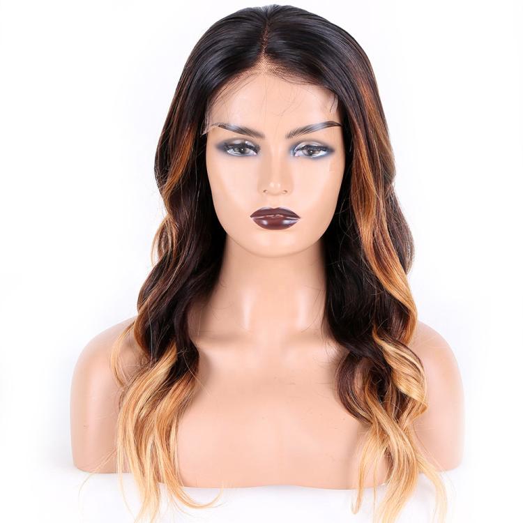 Ombre HD Lace Closure Wig