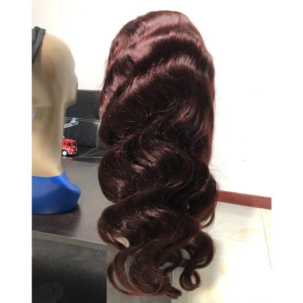 lace front wig 99J
