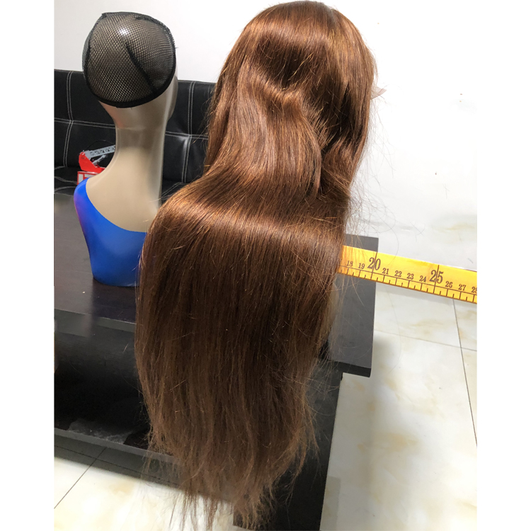 Indian hair Lace front wig