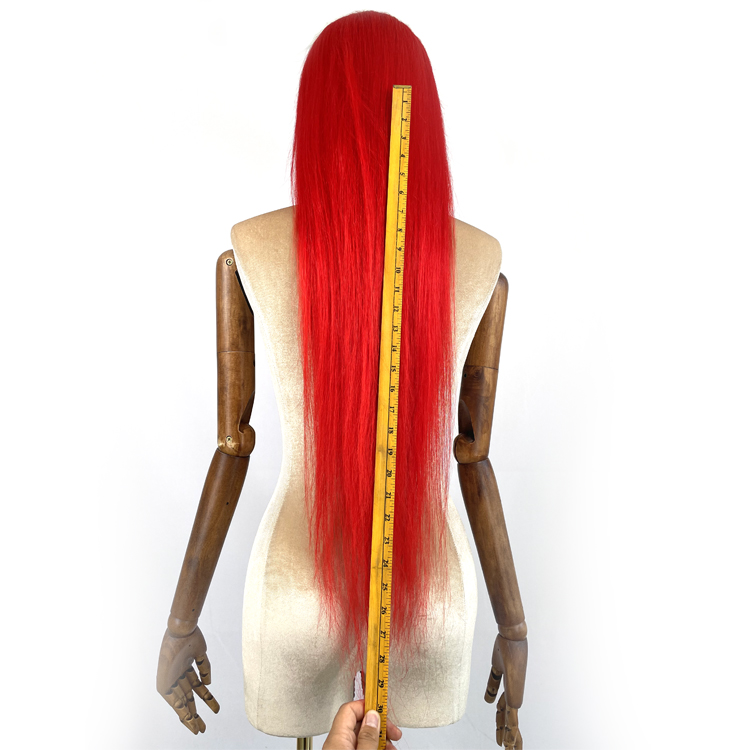 Red Hair Lace Frontal Wig
