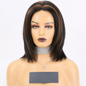 highlight lace front wig BOB wig