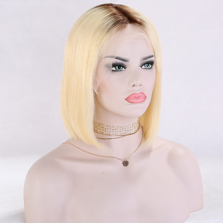 ombre lace front wig blonde wig